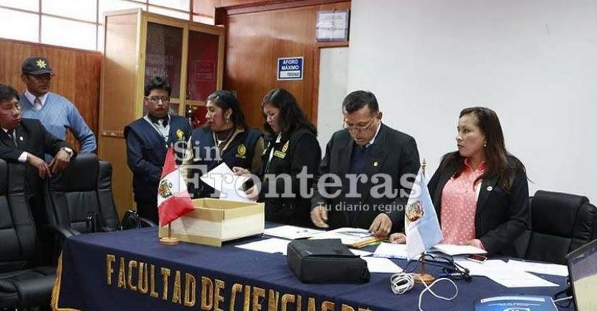Fiscalía intervine concurso docente en la UNA Puno, tras audios que destaparon «arreglos» para favorecer a postulantes