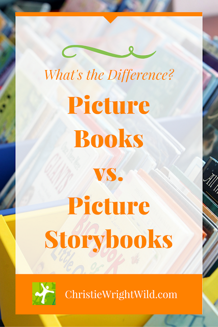 Picture Books vs. Picture Storybooks | writing for children | children's books