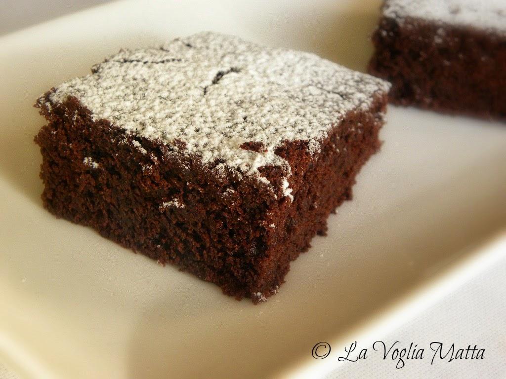 brownies al doppio cioccolato e caffè