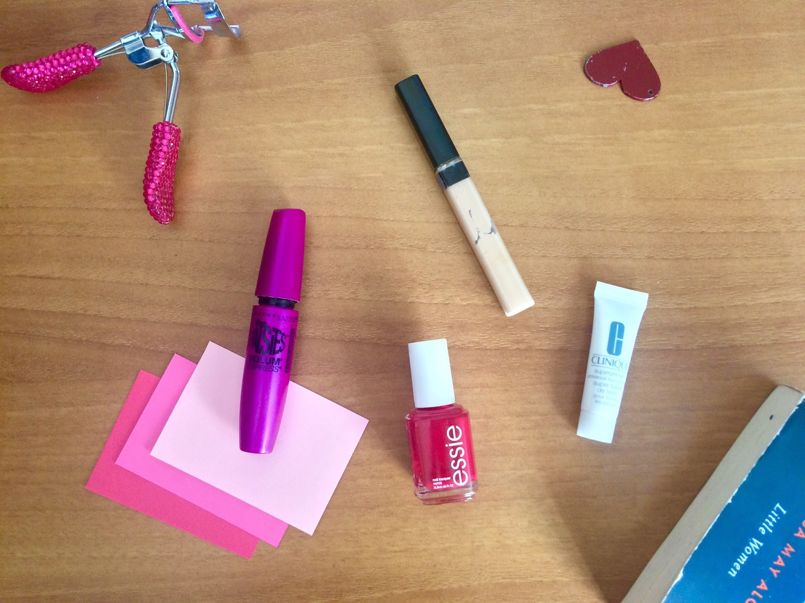 February Favorites: maybelline the falsies mascara, clinique superprimer universal, maybelline concealer