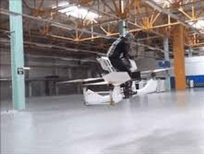 Uji coba 'Motor Terbang'
