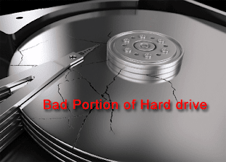 reason 1-bad hard drive