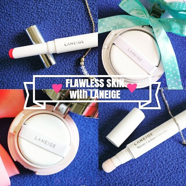 Flawless Makeup Easy as 1 2 3 with LANEIGE