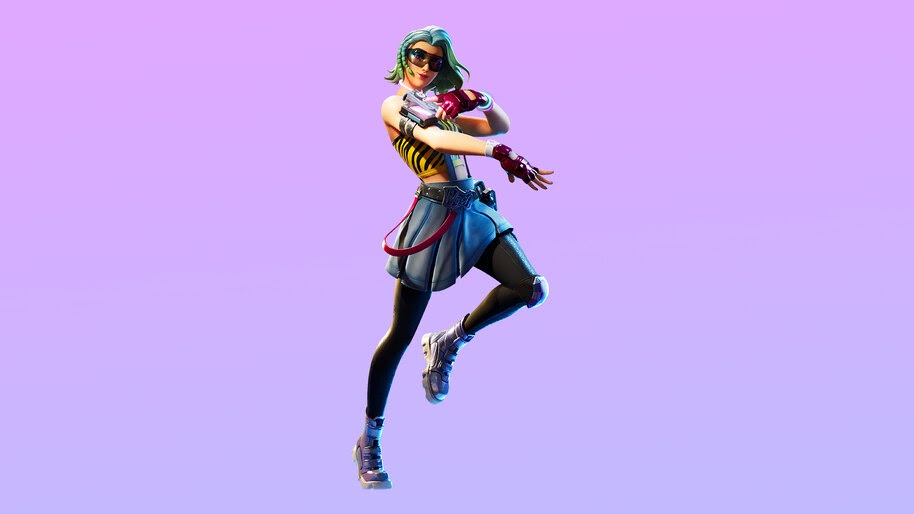 Fortnite, Chapter 2, Cameo vs Chic, Season 1, Battle Pass, [Skin], [Outfit], 4K, #3.1177