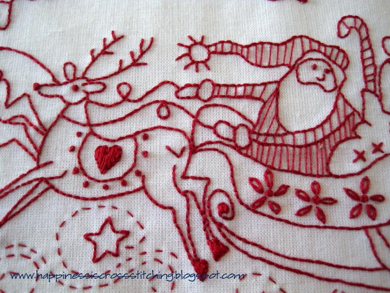 Happiness Is Cross Stitching Free Christmas Stitchery Patterns And
