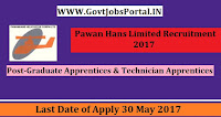 Pawan Hans Limited Recruitment 2017– Graduate Apprentices & Technician Apprentices