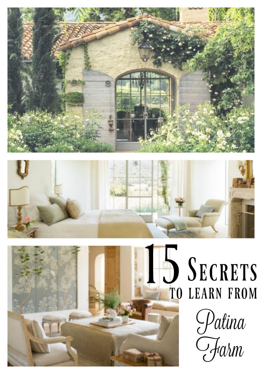 15 European Modern Farmhouse Decor Secrets I Learned From Patina Farm Hello Lovely