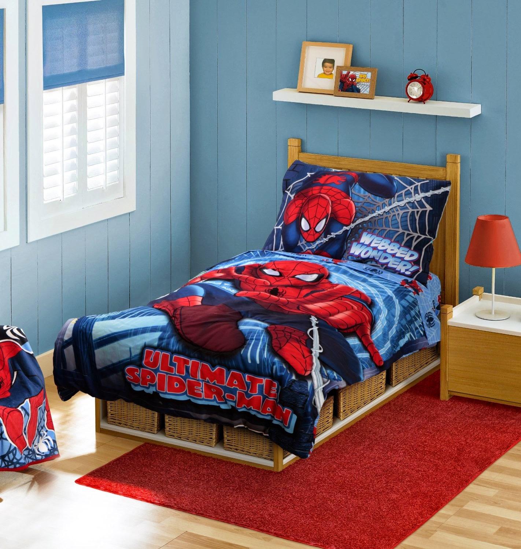 Tip Gambar Desain Kamar Spiderman