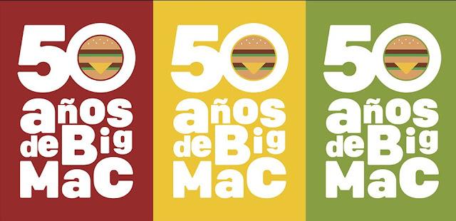 50 cumpleaños Big Mac
