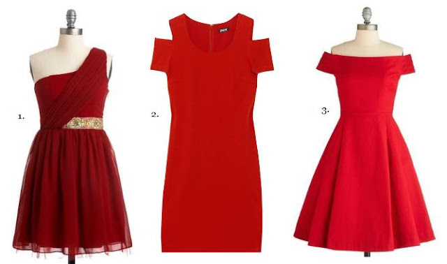 Red & Green Christmas Dresses