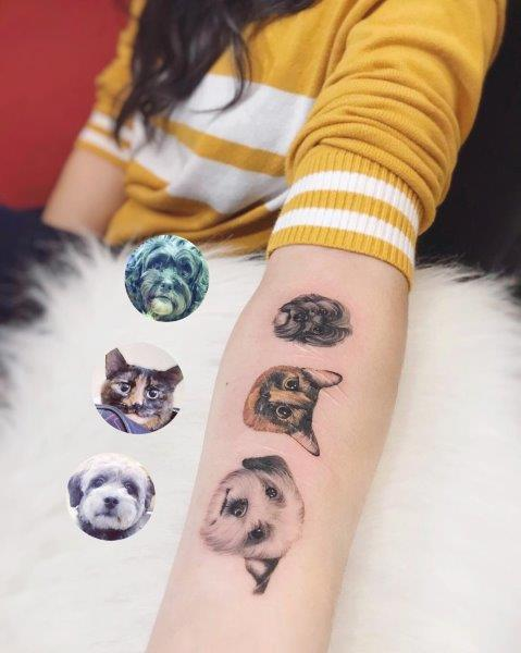 Furry Friends Tattoo