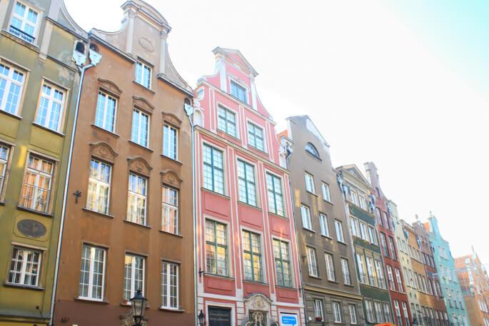 Gdansk architecture