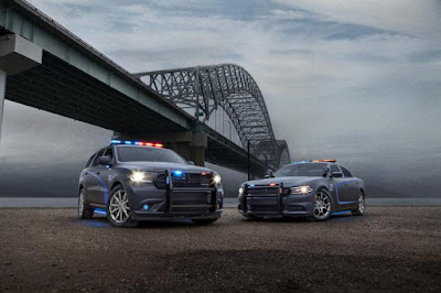 Dodge Durango and Dodge Charger police vehicles