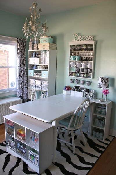 Manualidades Y Tendencias Ideas Para Decorar Un Taller De - Manualidades-habitacion