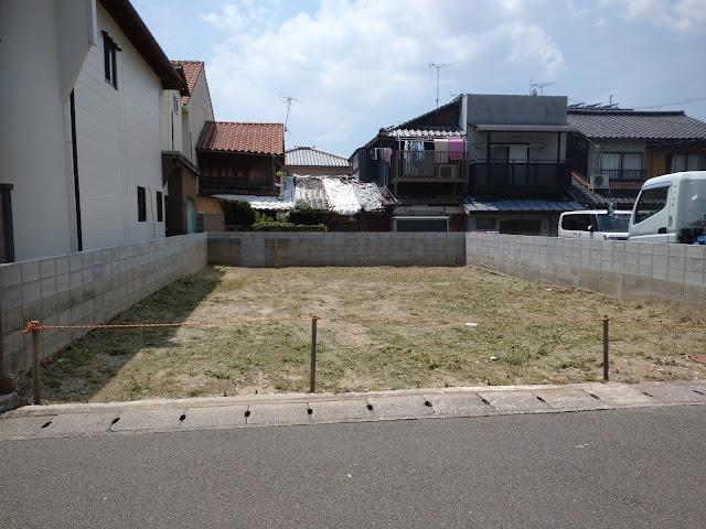 空き地 100平米 草刈り(京都市山科区)