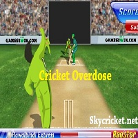 Play Cricket Overdose Game