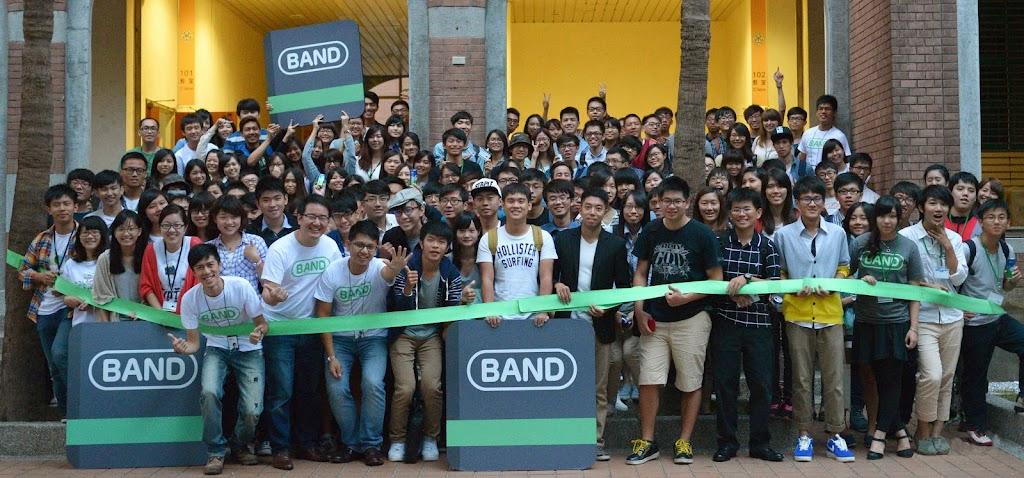 行動社交軟體BAND,全球下載量突破4千萬!
