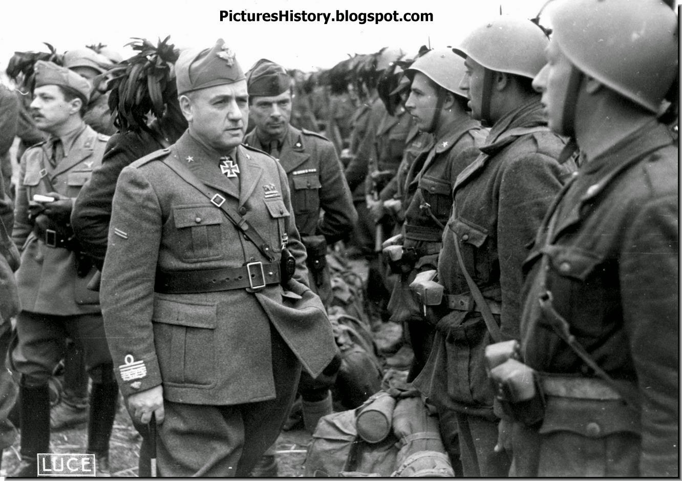 Italian general George Messe troops ww2