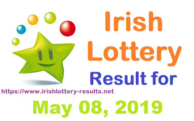 Irish Lottery Result for Wednesday, May 08, 2019