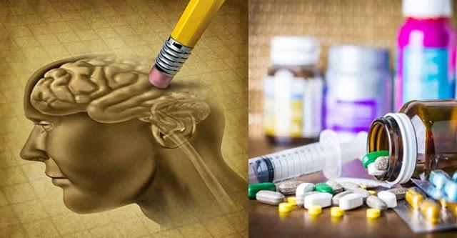 Elenco di farmaci che danneggiano il cervello e la memoria...
