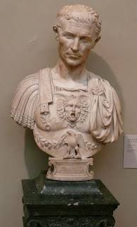 This bust of Caesar by Andrea di Pietro di Marco can be found in the Metropolitan Museum in New York