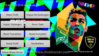 Download FTS Mod PES 2018 By Ocky Ry Apk + Data Obb