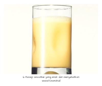 smoothie nanas