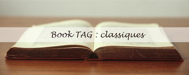 Book TAG : classiques