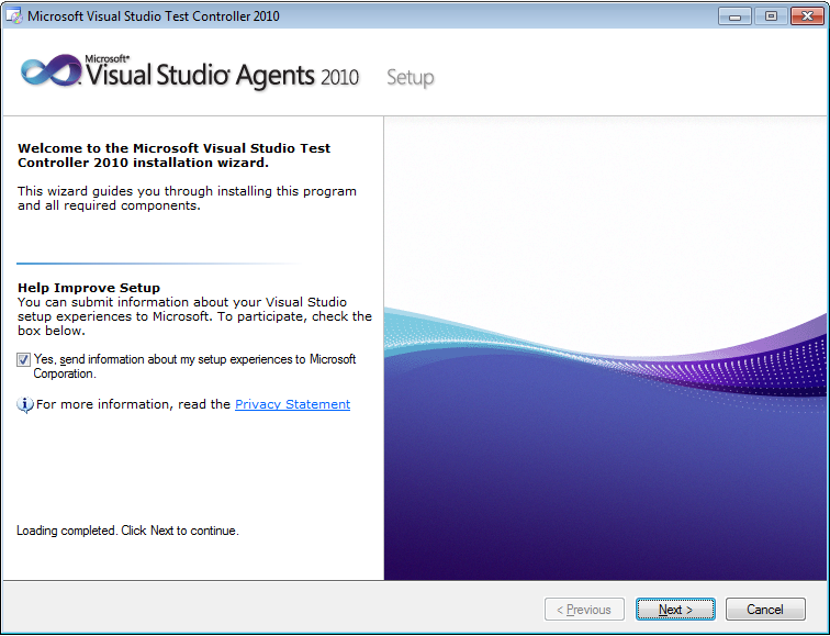 agents for visual studio