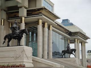 Ulan Baatar, Mongolia, ratsastusmatka