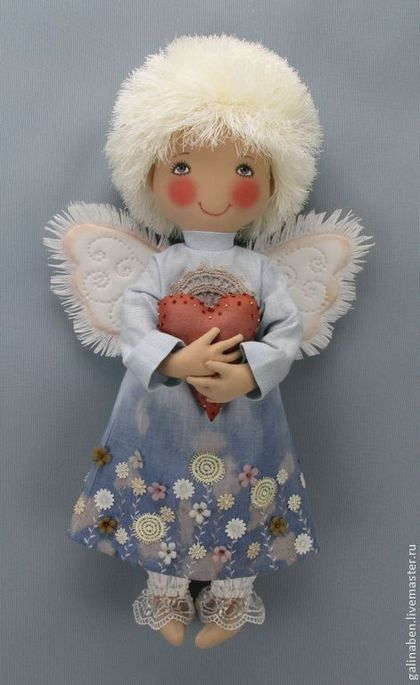 zimowy aniolek