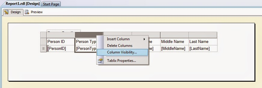 Satish MSBI World: How to Hide Column in Export Data from SSRS Report