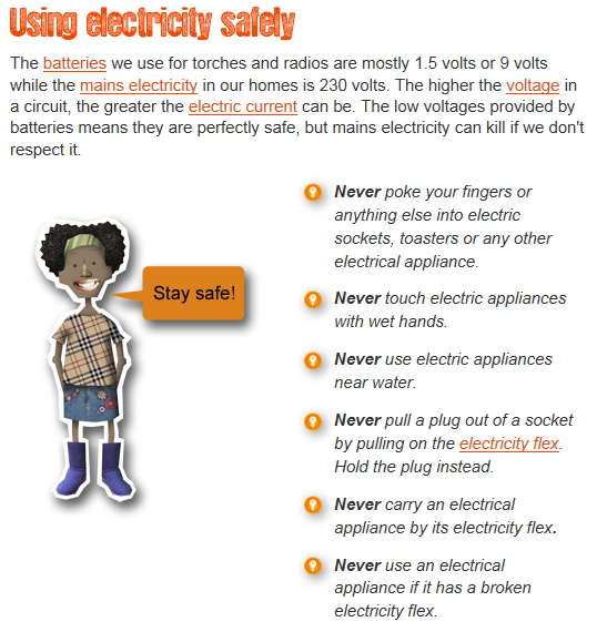 Tecnoinglish Technologies Tpr Using Electricity Safety