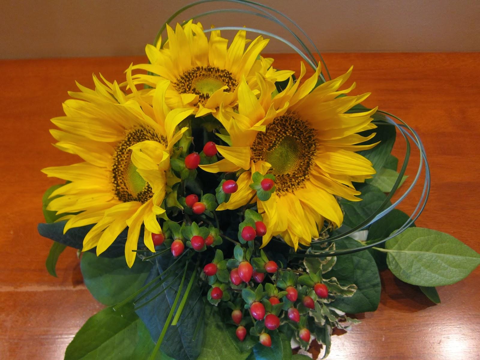 Myspecialday Aranjamente Florale Cu Floarea Soarelui