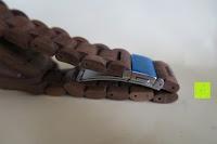 Verschluss: Holz Armbanduhr 360° Nut