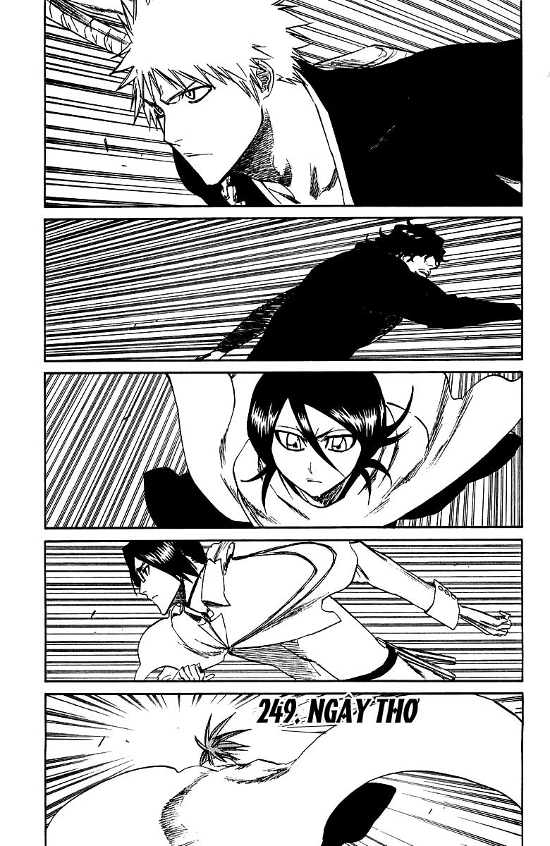 Bleach chapter 249 trang 2