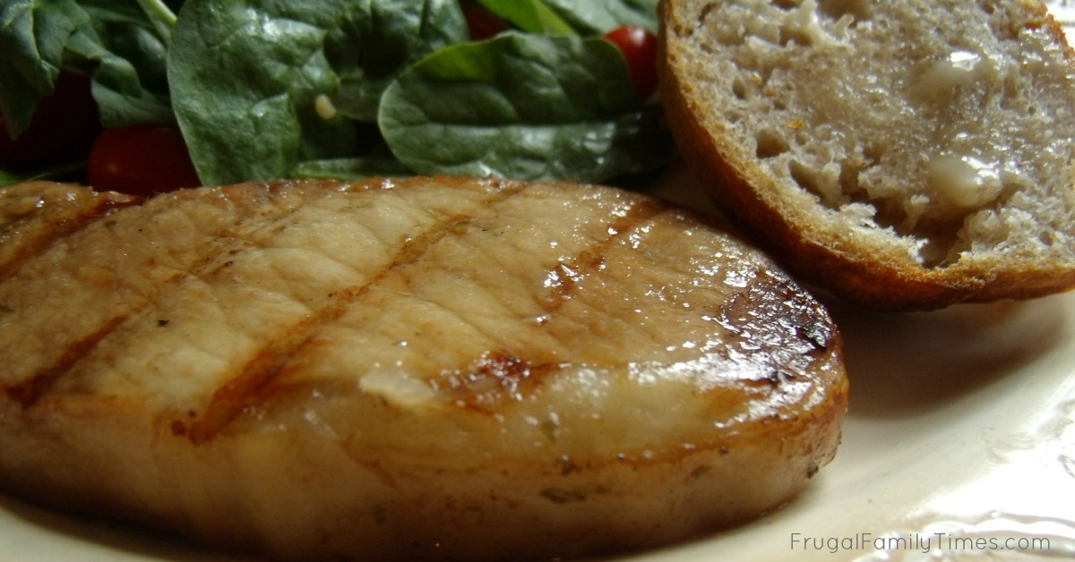 Simple Savory Marinated Pork Chops