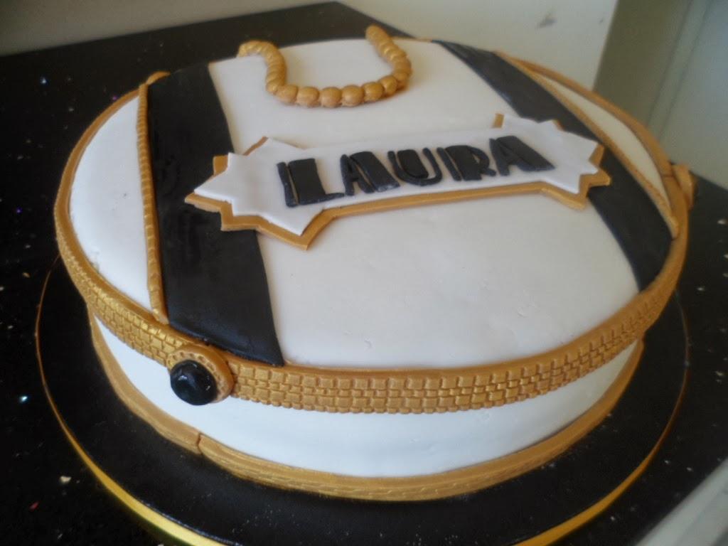Le Torte di Lara: Torta tema Great Gatsby per Laura