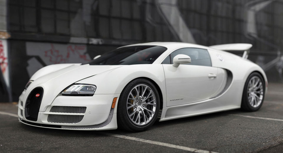 The Last Bugatti Veyron Coupe Ever Made Is Up For Grabs