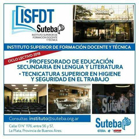 Suteba alte brown suteba abre las puertas de su for Instituto formacion docente