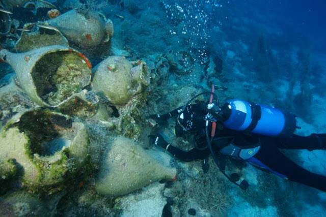 Another 23 shipwrecks located off the Greek island of Ikaria