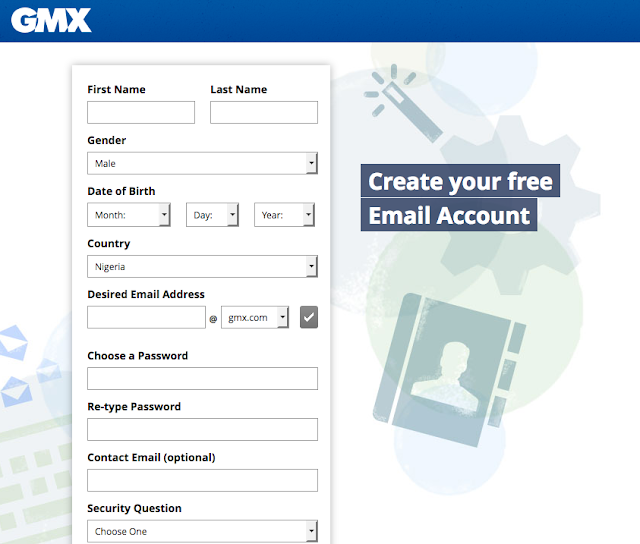 GMX account sign up