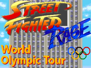 MUGEN PLAYER: STREET FIGHTER RAGE WORLD OLYMPIC TOUR