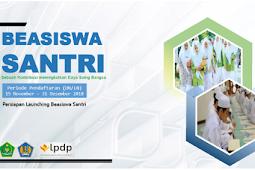 Syarat Pendaftaran Beasiswa Santri S2 S3 LPDP