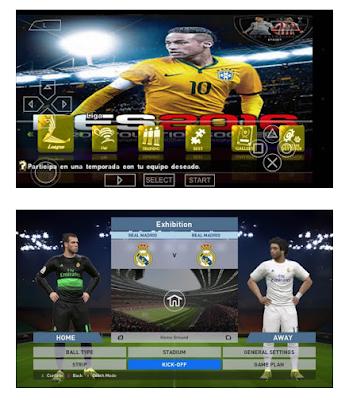 Game PES 2016/2017 Mx Fuxion PSP PPSSPP ISO Android