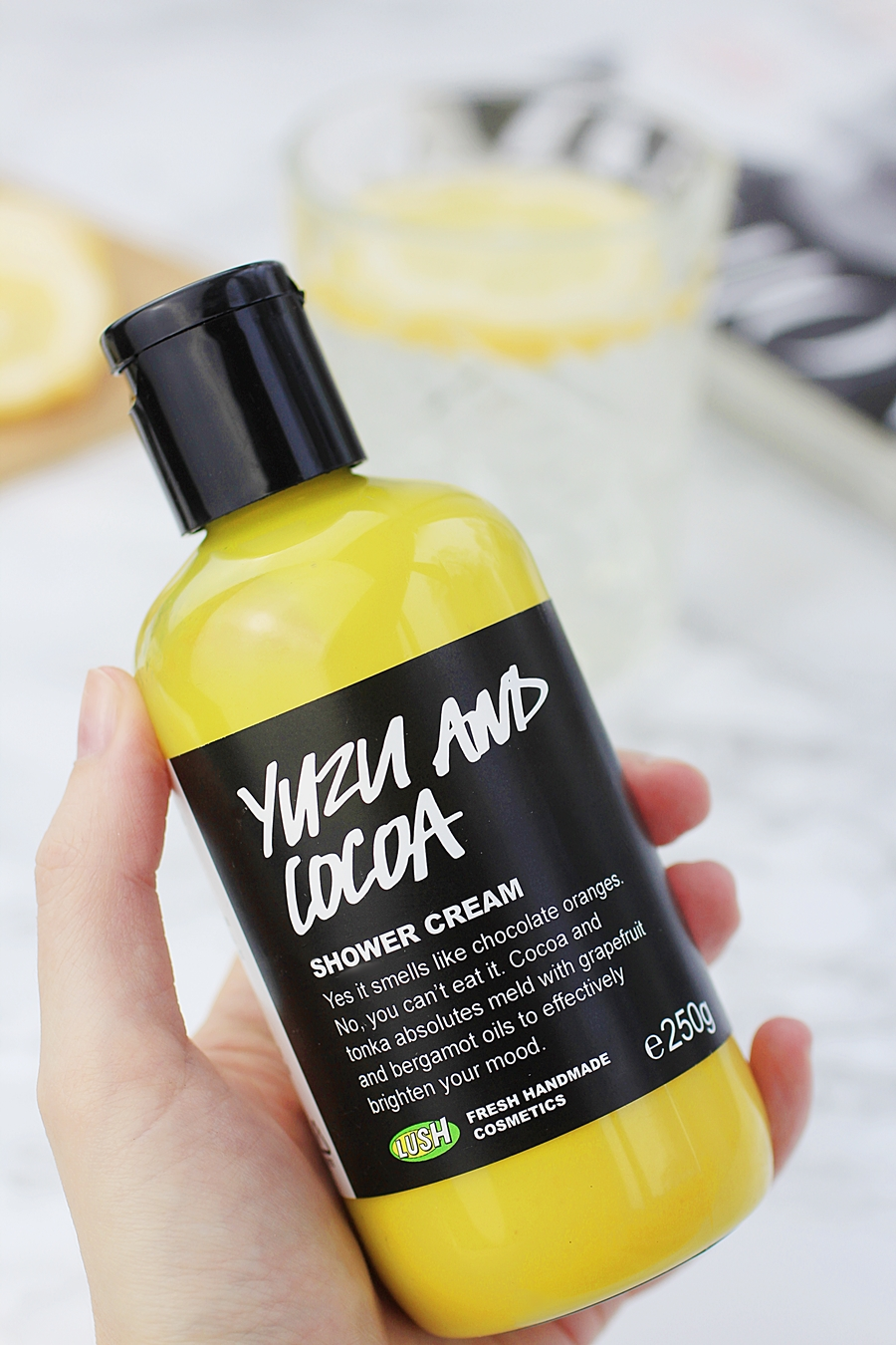 lush Yuzu  Cocoa review