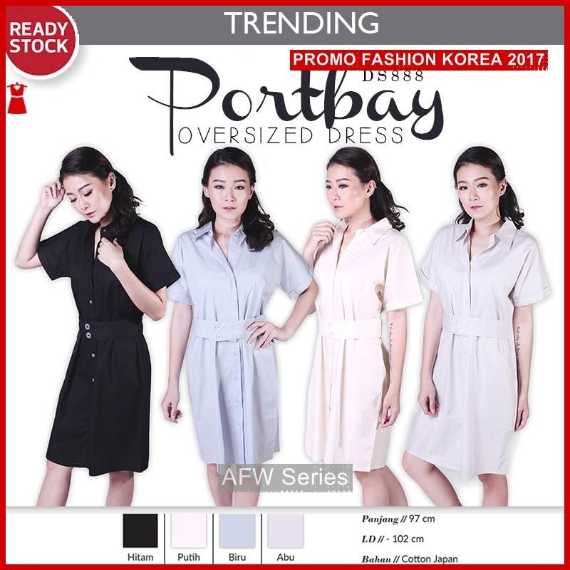 BAMFGW078 Portbay Dress Kemeja Wanita PROMO