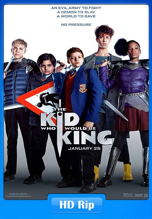 The Kid Who Would Be King 2019 BDRip x264 | 480p 300MB | 100MB HEVC