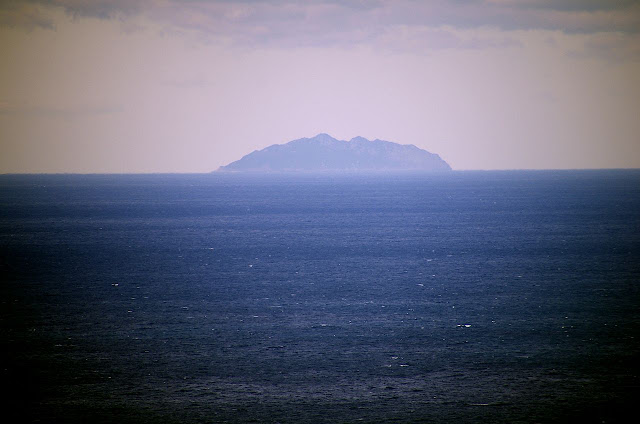 Okinoshima from the sea
