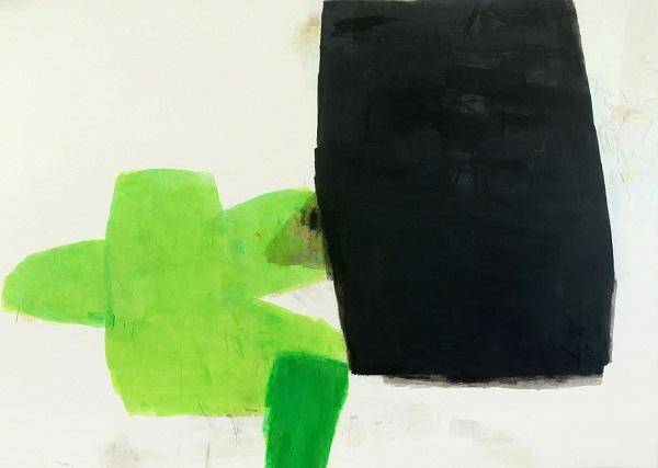 """""""Converging Strata No. 2"""", Hyunmee Lee.   obras de arte abstracto contemporaneo, pinturas abstractas, imagenes bellas   art selecta pictures inspiration"""